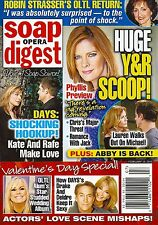 Young & the Restless, Jessica Collins, Drake Hogestyn - 2013 Soap Opera Digest