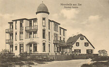 ANSICHTKAART NOORDWIJK AAN ZEE - PENSION OPDUIN (1925)