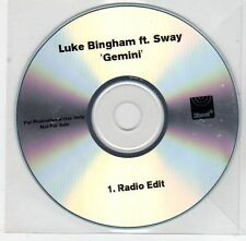 (EG13) Luke Bingham ft Sway, Gemini - DJ CD