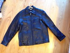 GUESS Jeans leather jacket