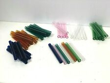 9 Tubes 12mm X 2mm X 6 Glass Tube Blowing Pyrex 6inch Long 8 Id Color