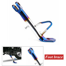 1Pc Aluminum Alloy Adjustable Kickstand Foot Side Stand for Universal Motorcycle
