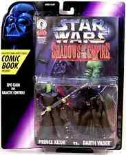 Star Wars Shadow of the Empire Prince Xizor Darth Vader action figure comic NIB