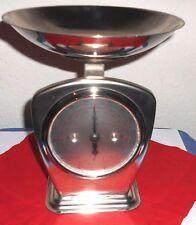 dekorative Edelstahl Küchenwaage, Tellerwaage, Haushaltswaage Firma TCM, 4 Kg