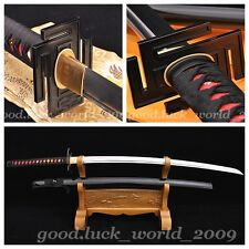 Japanese Shrine Ninja Sect Samurai Tang Sword Katana Carbon Steel Sharp Blade