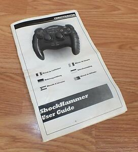 User Guide / Manual Only For ThrustMaster ShockHammer Wired Controller **READ**