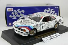 ANSON 1:18 scale BMW 635 CSi(E24) Touring Car 1988 #11 Die-Cast model (30403)