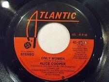 Alice Cooper Only Women / Cold Ethyl 45 1975 Atlantic Vinyl Record