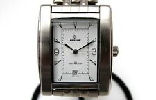 DUNLOP men's stainless steel quartz wrist watch  New Old Stock (RB39)