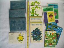 Collectible Set of 12 Vintage Bridge Score Pads Hallmark, Westab, Master Makers
