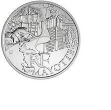 """Pièce de 10 euros des régions 2011 """" Moyotte """""""