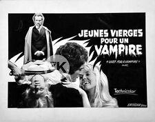 LUST FOR A VAMPIRE Horreur SANGSTER Karnstein HAMMER Film PHOTOMONTAGE 1971
