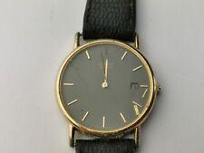 Seiko 5Y39-7010 Men's Quartz Date Watch for Repair, Vintage Seiko Watch