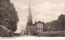 Cockfosters near Barnet. Church.