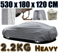 HEAVY 2.2KG EXTRA LARGE XL FULL CAR COVER 100% WATERPROOF OUTDOOR RAIN SNOW