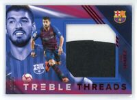2018-19 LUIS SUAREZ 10/20 PATCH PANINI TREBLE THREADS