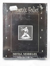 FX15 GIRL with PYTHON, Phoenix Folies, 80mm Metal Miniature, Brand NEW