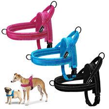 Stop Pulling Reflective Dog Harness Soft Strap Fleece Padded Vest Adjustable