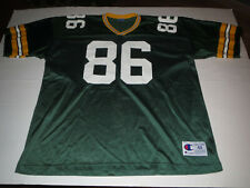 Vtg Green Bay Packers Antonio Freeman Champion Jersey T-shirt Adult XL