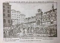 Prise de la Bastille 14 Juillet 1789 Hôtel de Ville Paris Révolution Française