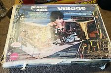 Vintage 1967 Planet Of The Apes Village Toy Playset With Original Box!