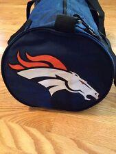 NFL Denver Broncos Gym Travel Duffel Bag New With Tags Inside Pocket