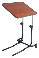 Medical Over Bed Chair Table For Food Laptop Mobility Disability Hospital New