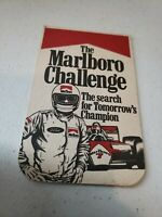 Rare Vintage 1980's The Marlboro Challenge Coaster Racing
