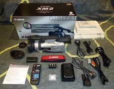 Cámara de video. Videocámara profesional Canon XM2 + varios extras