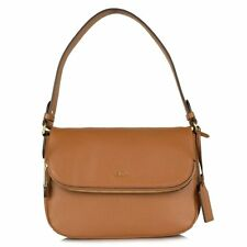 Lauren Ralph Lauren Harrington Shoulder Bag Tan