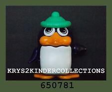 Jouet Kinder Capsule tirelire pingouin Bonnet vert 650781 Allemagne 1994