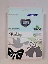 Slice Making Memories Slice Design Card Wedding #35924