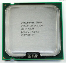 Intel Core 2 Duo E7600 3.06 GHz 3MB LGA 775 Dual-Core Processor slgtd