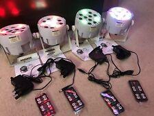 More details for 4x equinox micro batt led battery dmx uplighter