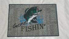 Fishing advertising.Fishing equipment.fishing lures.fish display mat.
