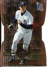 1997 Leaf Fractal Matrix Die Cut Bronze Justin Thompson 177 Tigers
