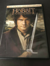 THE HOBBIT AN UNEXPECTED JOURNEY ( DVD ) 2 DISC SPECIAL EDITION