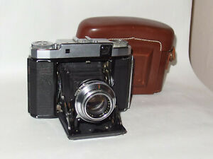 6x6 Fotoapparat Kamera Zeiss Ikon Super-Ikonta 531/16 RF-camera Novar 3,5/75