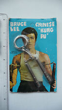 RARE - 1970s Bruce Lee Keychain Nunchaku - SEALED