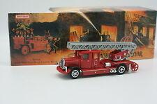 Matchbox Yesteryear Fire Engine Vigili Del Fuoco 1/43 Mercedes Scaletta Camion