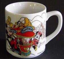 Tokyo Disneyland Toontown Mug Mickey Mouse Minnie Mouse Trolley First Year 1996