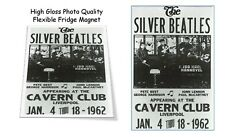"""The Silver Beatles Liverpool 1962 Poster Extremely Rare 3""""X4"""" FRIDGE MAGNET #121"""