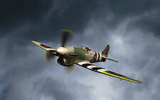 Giant 1/6 Scale British WW-II Hawker Tempest Mk.V Plans, Templates 82ws
