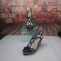 Fioni Wedge Strappy Sandals Size 9