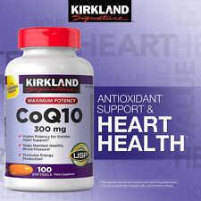 Kirkland CoQ10 300mg 100 Softgels Maximum Potency. Exp 04/2021