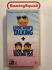 Look Who's Talking/ Look Who's Talking 2 VHS Video, Supplied by Gaming Squad