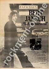 Bert Jansch L.A. Turnaround Advert 21/9/74