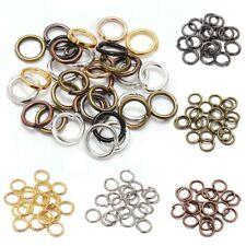 200pcs/lot 3mm Metal Open Jump Rings Split Connectors For DIY Jewelry Making New