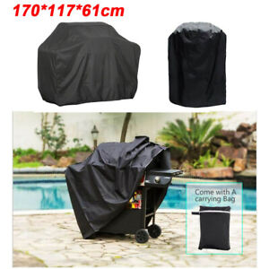 170CM BBQ Covers Heavy Duty Waterproof Barbecue Smoker Grill Protectors