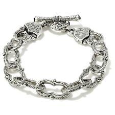 Konstantino 925 Sterling Silver Figure 8 Link Bracelet, 7 Inch Length